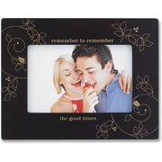 4x6 Walnut Wood Remember the Good Times Picture Frame