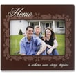 4x6 Brown Wood Home Picture Frame