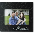 4x6 Black Wood Memories Picture Frame