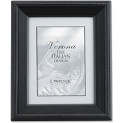 "Lawrence Frames Verona Collection 4"" x 5"" Wooden Black Picture Frame (410045)"