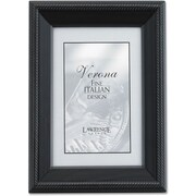 "Lawrence Frames Verona Collection 8"" x 12"" Wooden Black Picture Frames (410082)"