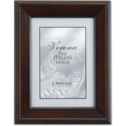 "Lawrence Frames Verona Collection 5"" x 7"" Wooden Walnut Picture Frame (410157)"