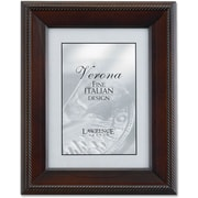 "Lawrence Frames Verona Collection 8"" x 10"" Wooden Walnut Picture Frame (410180)"