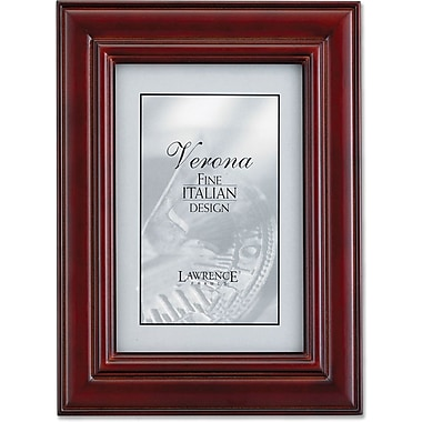 Cherry Wood 4x6 Picture Frame - Dimensional