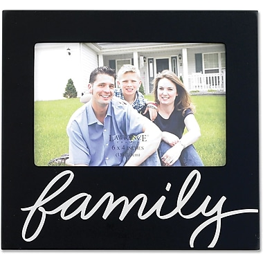 Black 4x6 Family Picture Frame