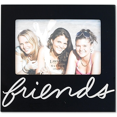 Black 4x6 Friends Picture Frame