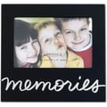 Black 4x6 Memories Picture Frame