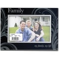 Glass and Metal 4x6 Family Picture Frame