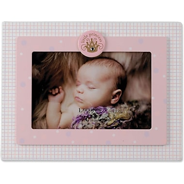 Pink And White 4x6 Picture Frame - Little Princess Design