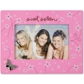 Pink Floral 4x6 Picture Frame - Sweet Sixteen Design