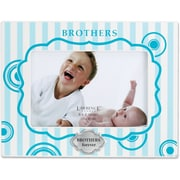 430546 Brothers 4x6 Horizontal Picture Frame