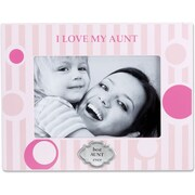 430646 I Love My Aunt 4x6 Horizontal Picture Frame