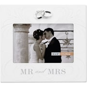 "Lawrence Frames Sentiments Collection ""Mr and Mrs"" 4"" x 6"" Wooden Picture Frame (475164)"