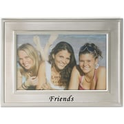 Brushed Metal 4x6 Friends Picture Frame - Sentiments Collection