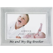 Big Brother Silver Plated 6x4 Picture Frame - Me And My Big Brother Design