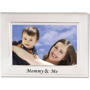 Brushed Metal 4x6 Mommy and Me Picture Frame - Sentiments Collection