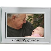 "Lawrence Frames Sentiments Collection ""I Love My Grandpa"" 4"" x 6"" Metal Picture Frame (506664)"
