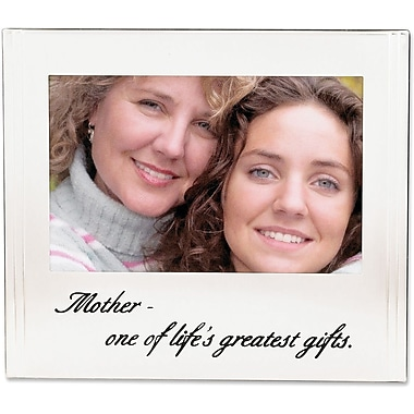 Mother Silver Plated 6x4 Picture Frame - One Of Life's Grearest Gifts Design