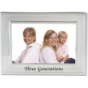 "Lawrence Frames Sentiments Collection ""Generations"" 4"" x 6"" Metal Picture Frame (508064)"