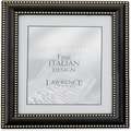 5x5 Metal Picture Frame Oil Rubbed Bronze with Delicate Beading