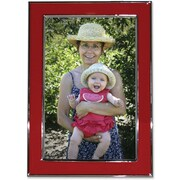 "Lawrence Frames Verona Collection 4"" x 6"" Metal Red Picture Frame (586246)"