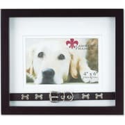 "Lawrence Frames Pets Collection 4"" x 6"" Wooden Picture Frame (591864)"