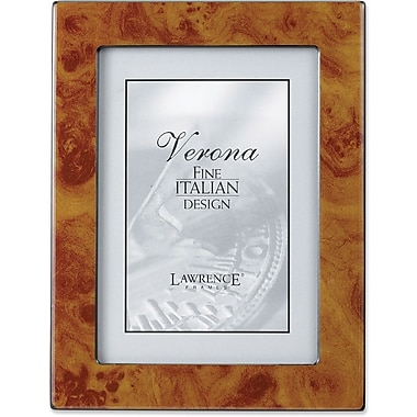 Lawrence Frames Verona Collection 8in. x 10in. Wooden Natural Picture Frame (620080)
