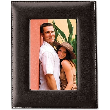 Black Leather 8x10 Picture Frame
