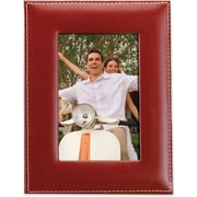 Lawrence Frames 5 x 7 Faux Leather Red Picture Frame (685157)