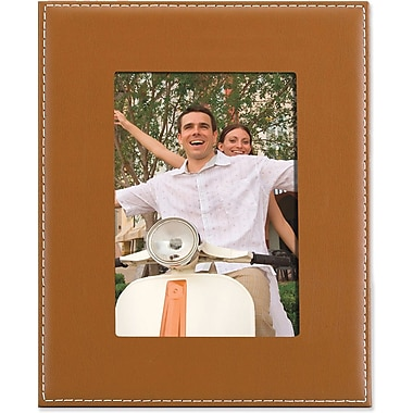 Camel Leather 8x10 Picture Frame