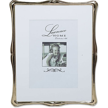 710280 Silver Metal Romance 8x10 Matted for 5x7 Picture Frame