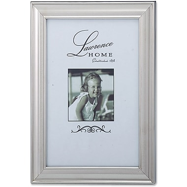 710346 Tailored Metal Silver 4x6 Picture Frame