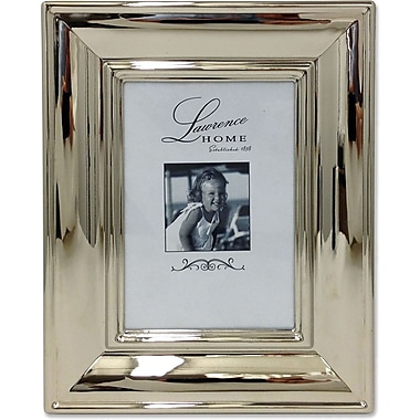 710446 Wide Silver Metal Elegance 4x6 Picture Frame