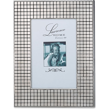Lawrence Frames Hollywood Silver Metal Squares