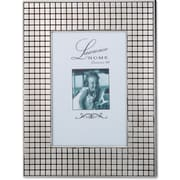 710546 Hollywood Silver Metal Squares 4x6 Picture Frame