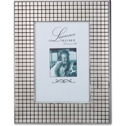 710557 Hollywood Silver Metal Squares 5x7 Picture Frame