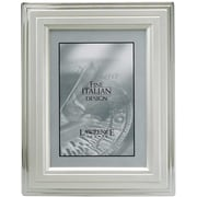 8x10 Metal Picture Frame Silver-Plated Step