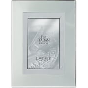 Silver Plated Engraveable 4x6 Metal Picture Frame
