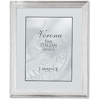 Silver Plated 5x7 Metal Picture Frame