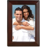 "Lawrence Frames 4"" x 6"" Wooden Walnut Brown Picture Frame (725146)"