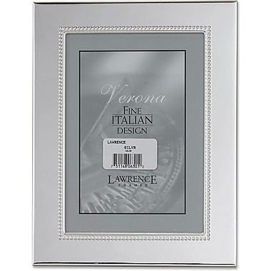 Silver Plated 5x7 Metal Picture Frame - Inner Bead