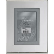 Silver Plated 5x7 Metal Picture Frame - Outer Edge