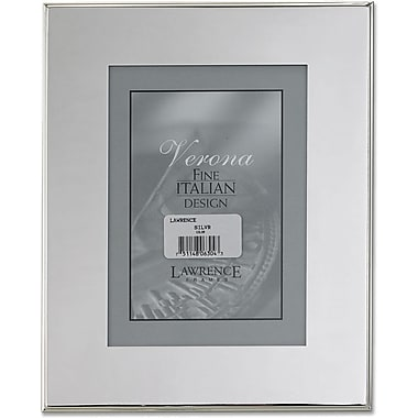 Silver Plated 8x10 Metal Picture Frame - Outer Edge