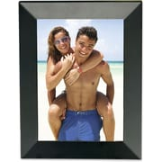 Black Wood Reverse 4x6 Picture Frame