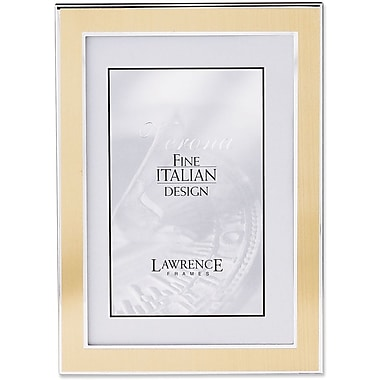 Lawrence Frames Silver and Gold Metal Picture Frame