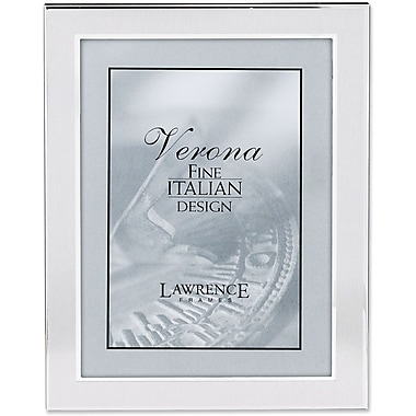 Brushed Silver 8in. x 10in. Metal Picture Frame