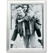 """Lawrence Frames 3"""" x 5"""" Metal Silver Picture Frame (750135)"""