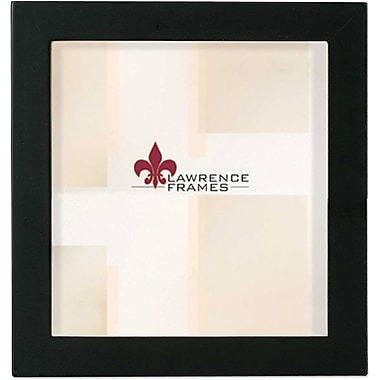 Lawrence Frames 5in. x 5in. Wooden Black Picture Frame (755555)