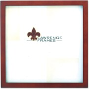 "Lawrence Frames 8"" x 8"" Wooden Walnut Brown Picture Frame (755688)"