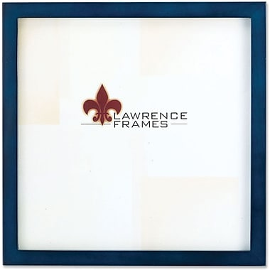 755788 Blue Wood 8x8 Picture Frame - Gallery Collection